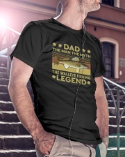 The Man The Myth The Walleye Fishing Legend Classic T-Shirt lifestyle-mens-crewneck-front-5