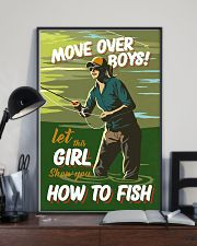Fly Fishing Move Over Boys 11x17 Poster lifestyle-poster-2