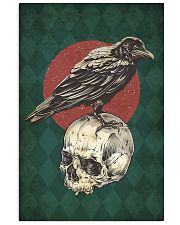 Raven And Skull 11x17 Poster front