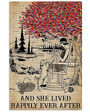 And She Lived Happily Ever After Knitting 11x17 Poster front
