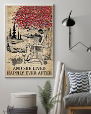 And She Lived Happily Ever After Knitting 11x17 Poster lifestyle-poster-1