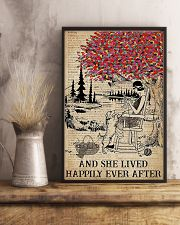 And She Lived Happily Ever After Knitting 11x17 Poster lifestyle-poster-3