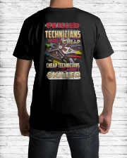 Skilled Technician Aren't Cheap Classic T-Shirt lifestyle-mens-crewneck-back-1