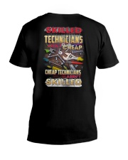 Skilled Technician Aren't Cheap V-Neck T-Shirt thumbnail