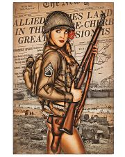 Army Girl 11x17 Poster front