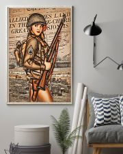 Army Girl 11x17 Poster lifestyle-poster-1