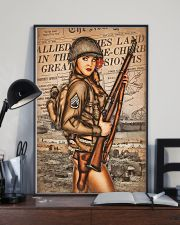 Army Girl 11x17 Poster lifestyle-poster-2