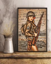 Army Girl 11x17 Poster lifestyle-poster-3