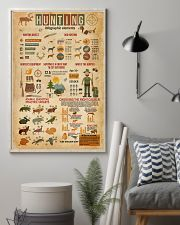 Hunting Infographic Elements 11x17 Poster lifestyle-poster-1
