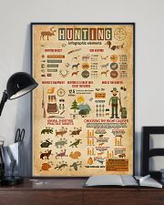 Hunting Infographic Elements 11x17 Poster lifestyle-poster-2