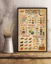 Hunting Infographic Elements 11x17 Poster lifestyle-poster-3