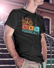 I Tell Dad Classic T-Shirt lifestyle-mens-crewneck-front-5