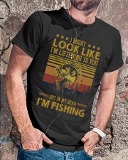 Love Fishing Classic T-Shirt lifestyle-mens-crewneck-front-4