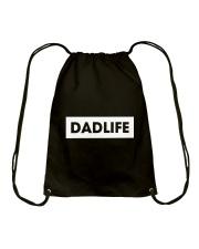Dad Life Drawstring Bag thumbnail
