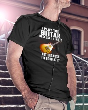 Love Guitar Father's Day Classic T-Shirt lifestyle-mens-crewneck-front-5