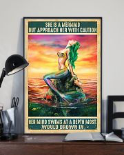 Mermaid She Dreams Of The Ocean 11x17 Poster lifestyle-poster-2