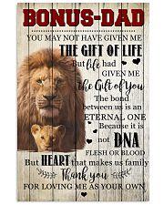 To My Bonus Dad 11x17 Poster front
