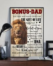 To My Bonus Dad 11x17 Poster lifestyle-poster-2