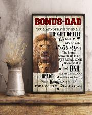 To My Bonus Dad 11x17 Poster lifestyle-poster-3