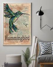 Dictionary Page Definition Hummingbird 11x17 Poster lifestyle-poster-1