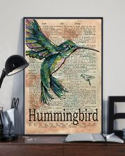 Dictionary Page Definition Hummingbird 11x17 Poster lifestyle-poster-2
