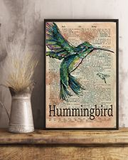 Dictionary Page Definition Hummingbird 11x17 Poster lifestyle-poster-3