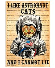 I Like Astronaut Cats 11x17 Poster front