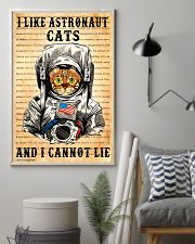 I Like Astronaut Cats 11x17 Poster lifestyle-poster-1