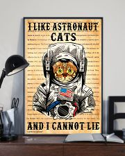 I Like Astronaut Cats 11x17 Poster lifestyle-poster-2
