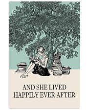 And She Lived Happily Ever After Reading 11x17 Poster front