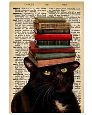 Book And Cat 11x17 Poster front