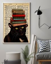 Book And Cat 11x17 Poster lifestyle-poster-1