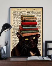 Book And Cat 11x17 Poster lifestyle-poster-2