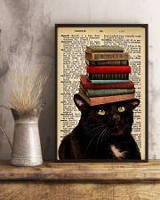 Book And Cat 11x17 Poster lifestyle-poster-3
