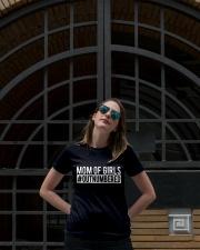 Mom Of Girl Ladies T-Shirt lifestyle-women-crewneck-front-1