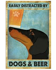 Dachshund And Beer 11x17 Poster front