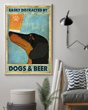 Dachshund And Beer 11x17 Poster lifestyle-poster-1