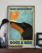 Dachshund And Beer 11x17 Poster lifestyle-poster-2