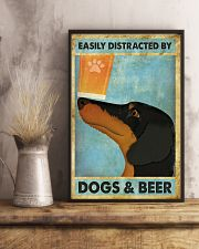 Dachshund And Beer 11x17 Poster lifestyle-poster-3