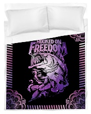 Hooked On Freedom Duvet Cover - Twin front