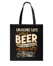 Without Beer Tote Bag thumbnail