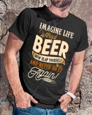 Without Beer Classic T-Shirt lifestyle-mens-crewneck-front-4