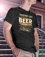 Without Beer Classic T-Shirt lifestyle-mens-crewneck-front-5