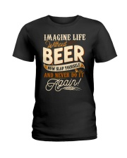 Without Beer Ladies T-Shirt thumbnail