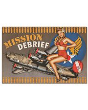 Mission Debriff 17x11 Poster front