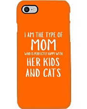 Kids and Cats Mom Shirts Phone Case thumbnail