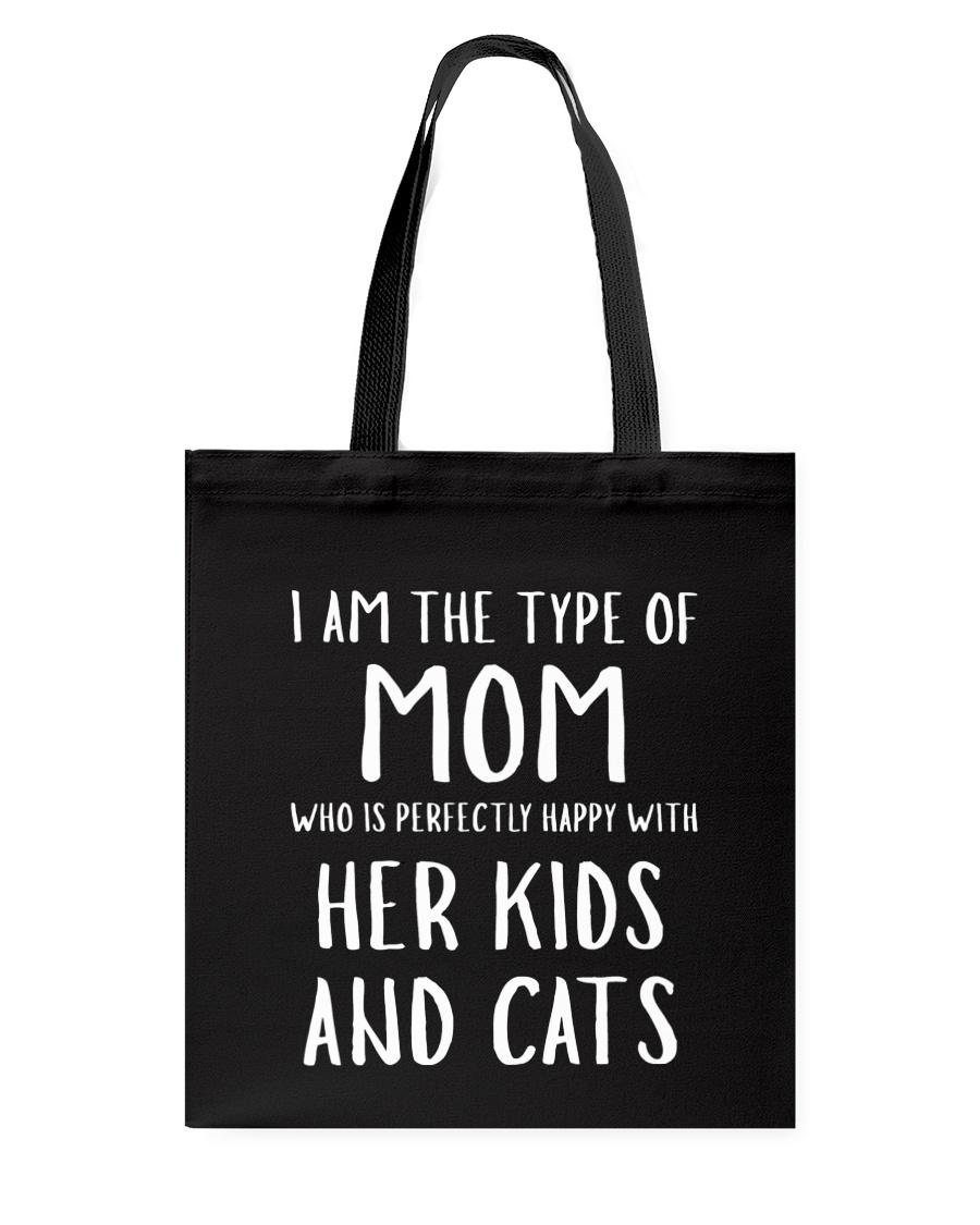 Kids and Cats Mom Shirts Tote Bag