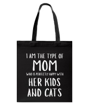 Kids and Cats Mom Shirts Tote Bag thumbnail