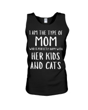Kids and Cats Mom Shirts Unisex Tank thumbnail