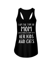Kids and Cats Mom Shirts Ladies Flowy Tank thumbnail